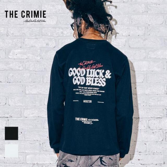 【取り寄せ対応】 CRIMIE クライミー GLGB LONG SLEEVE TEE CR1-02A5-CL12 21AW Tシャツ ロンT カットソー トップス ロゴ プリント