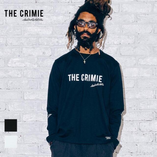 【取り寄せ対応】 CRIMIE クライミー CR LOGO LONG SLEEVE TEE CR1-02A5-CL13 21AW Tシャツ ロンT カットソー トップス ロゴ プリン