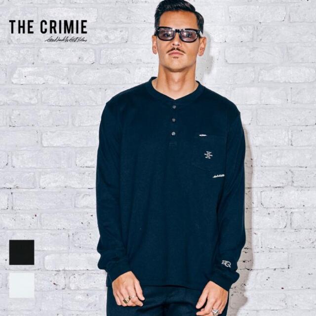 【取り寄せ対応】 CRIMIE クライミー HENLEY NECK LONG SLEEVE TEE CR1-02A5-CL14 21AW Tシャツ カットソー ヘンリーネック トップス