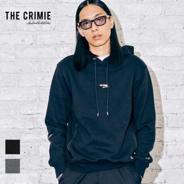 【先行予約】 CRIMIE クライミー SMALL LOGO HOODIE CR1-02A5-CL52 21AW パーカー フーディ トップス スウェット プルオーバー ロゴ