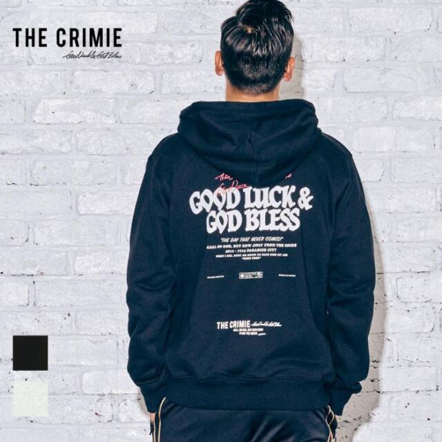 【先行予約】 CRIMIE クライミー GLGB HOODIE CR1-02A5-CL55 21AW パーカー フーディ トップス スウェット プルオーバー ロゴ 袖プリ