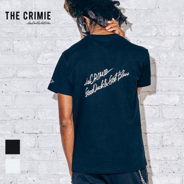 【取り寄せ対応】 CRIMIE クライミー SKULL LETTERING LOGO SHORT SLEEVE TEE CR1-02A5-CS02 21AW Tシャツ カットソー トップス ロゴ