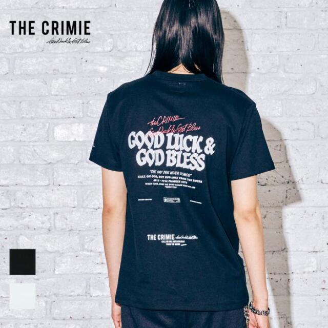 【取り寄せ対応】 CRIMIE クライミー GLGB SHORT SLEEVE TEE CR1-02A5-CS03 21AW Tシャツ カットソー トップス ロゴ プリント カジュ