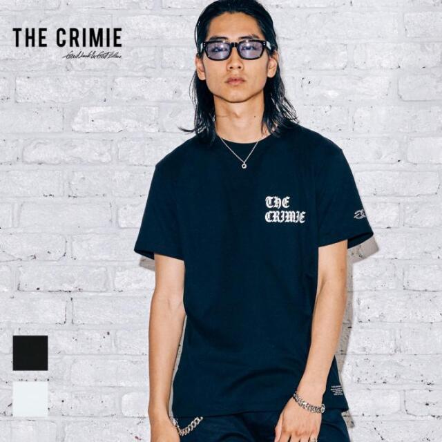 【取り寄せ対応】 CRIMIE クライミー OLD ENGLISH LOGO SHORT SLEEVE TEE CR1-02A5-CS04 21AW Tシャツ カットソー トップス ロゴ プ