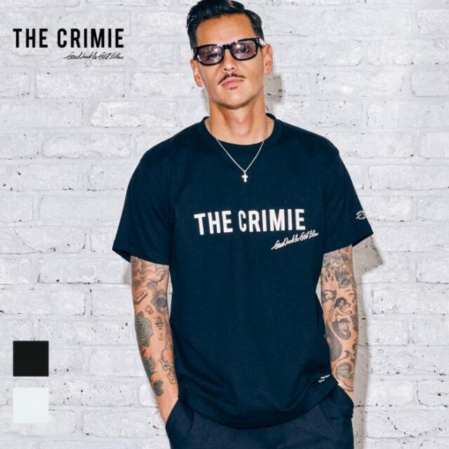 【取り寄せ対応】 CRIMIE クライミー CR LOGO SHORT SLEEVE TEE CR1-02A5-CS05 21AW Tシャツ カットソー トップス ロゴ プリント カ