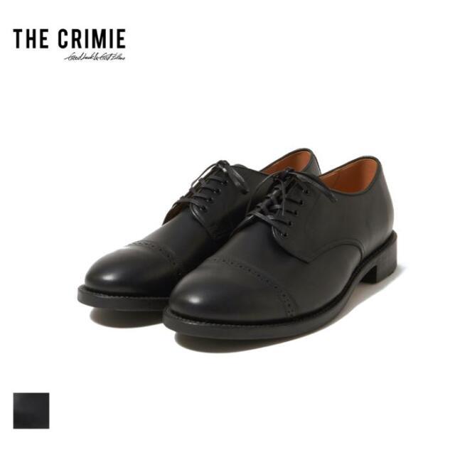 【先行予約】 CRIMIE クライミー THE OXFORD DRESS SHOES CR1-02A5-FW02 21AW レザーシューズ ドレスシューズ ストレートチップ 外羽