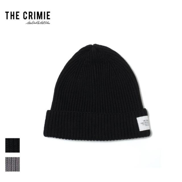 【先行予約】 CRIMIE クライミー COTTON KNIT CAP CR1-02A5-HW01 21AW ニット帽 ニットキャップ 帽子 ビーニー コットン カジュアル