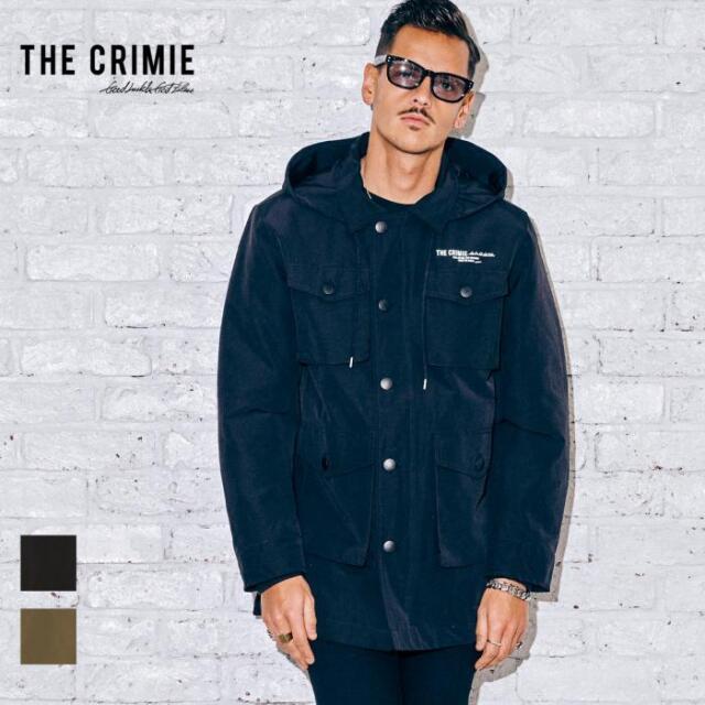 【先行予約】 CRIMIE クライミー KEVIN HALF COAT CR1-02A5-JK17 21AW ハーフコート ハンタージャケット ジャケット ライトアウター
