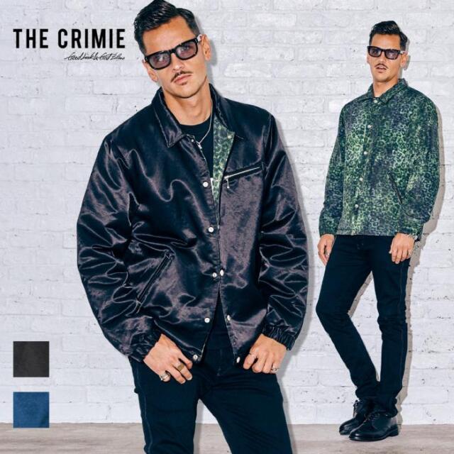【先行予約】 CRIMIE クライミー REVERSIBLE JACKET CR1-02A5-JK18 21AW コーチジャケット ジャケット 防寒 カジュアル ファッション