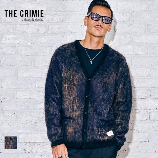 【取り寄せ対応】 CRIMIE クライミー MOHAIR NOISE LEOPARD KNIT CARDIGAN CR1-02A5-KN04 21AW カーディガン ニット モヘア ウール