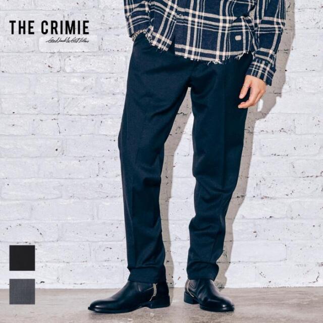 【取り寄せ対応】 CRIMIE クライミー JIMMY SUIT PANTS CR1-02A5-PL02 21AW JIMMY スラックス パンツ ウール セットアップ センター