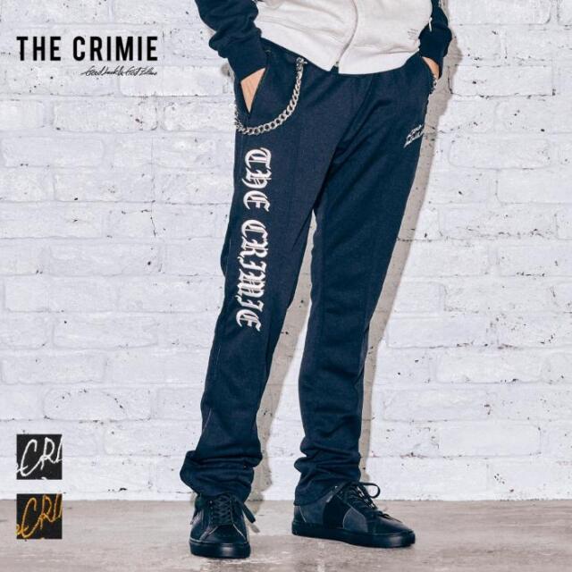 【取り寄せ対応】 CRIMIE クライミー EMBROIDERY JERSEY TRACK PANTS CR1-02A5-PL06 21AW ジャージ トラックパンツ パンツ カジュア