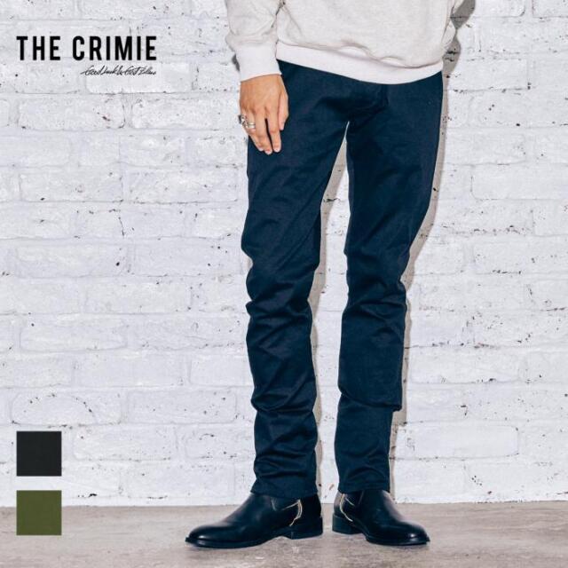 【先行予約】 CRIMIE クライミー STRETCH TWILL PANTS BORN RUDE TYPE CR1-02A5-PL08 21AW BORN チノパン ストレッチ チノ パンツ カ