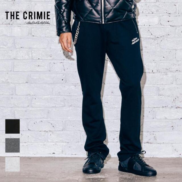 【取り寄せ対応】 CRIMIE クライミー SWEAT PANTS CR1-02A5-PL60 21AW スウェットパンツ スウェット パンツ ロゴ 裏毛 杢 カジュアル