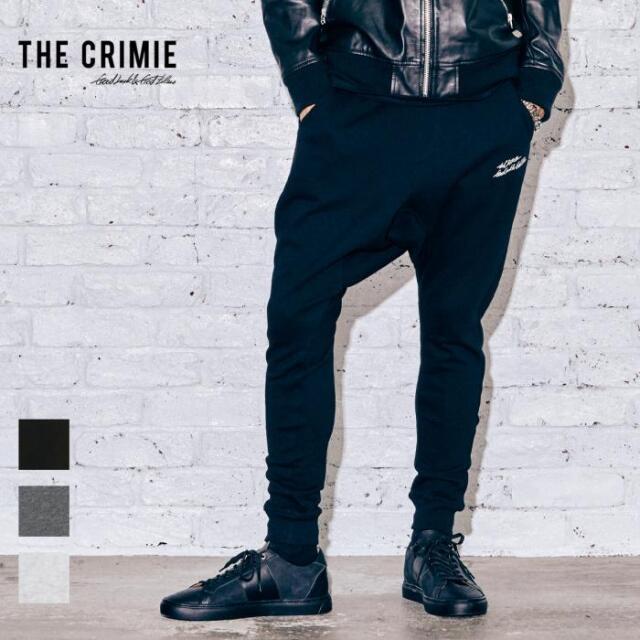 【取り寄せ対応】 CRIMIE クライミー SAROUEL SWEAT PANTS CR1-02A5-PL61 21AW スウェットパンツ サルエル スウェット パンツ ロゴ