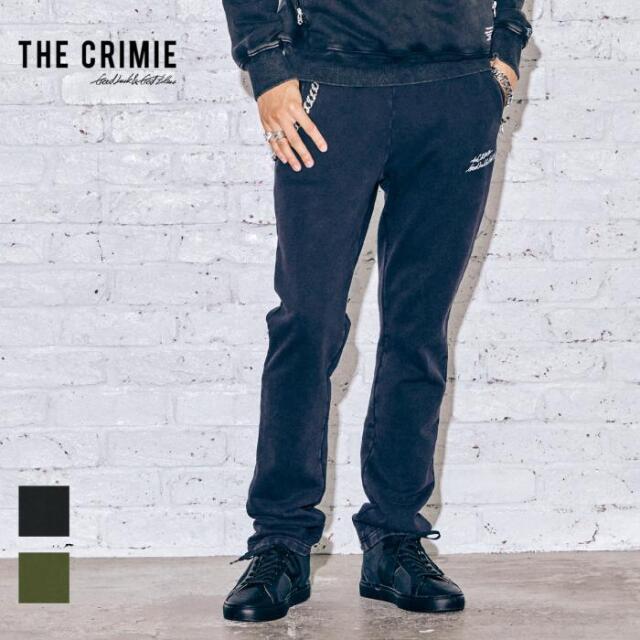 【先行予約】 CRIMIE クライミー VINTAGE OVERDYE LETTERING LOGO SWEAT PANTS CR1-02A5-PL70 21AW スウェットパンツ スウェット ビ