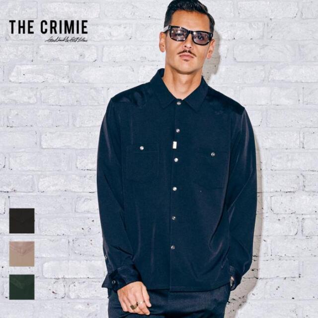 【取り寄せ対応】 CRIMIE クライミー WESTERN DRESS SHIRT CR1-02A5-SL01 21AW ウエスタンシャツ シャツ ヨーク トップス カジュアル