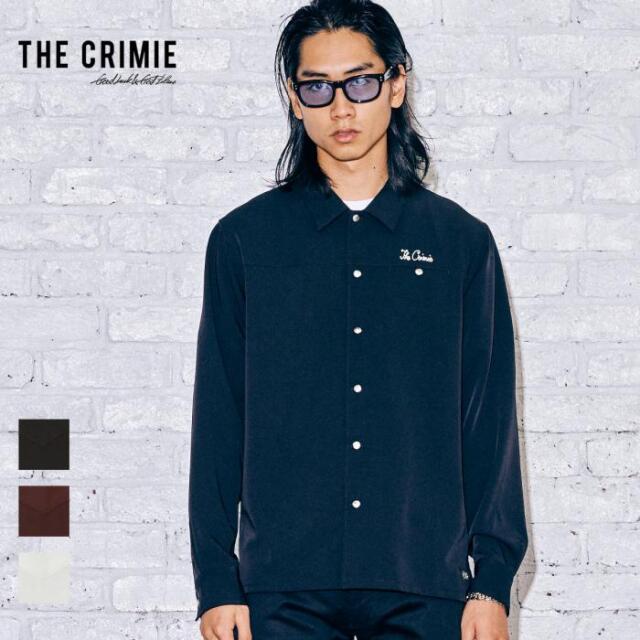 【取り寄せ対応】 CRIMIE クライミー MILES LONG SLEEVE SHIRT CR1-02A5-SL02 21AW MILES シャツ ストレッチ コンチョ トップス カジ