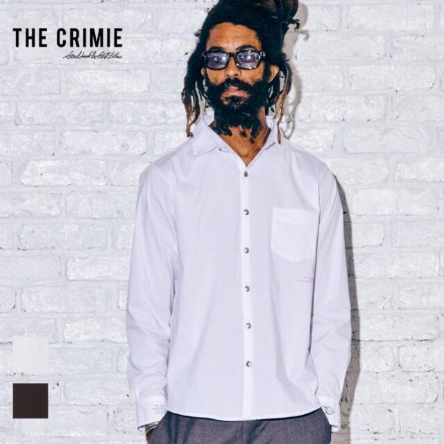 【取り寄せ対応】 CRIMIE クライミー DRESS STRETCH SHIRT CR1-02A5-SL10 21AW ドレスシャツ シャツ ストレッチ コンチョ トップス