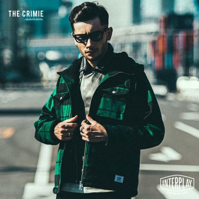 タイムセール【SALE52%OFF】 クライミー CRIMIE ウィルチェックボアフードジャケット WILL CHECK BOA HOODED JACKET CR1-02L5-JK36