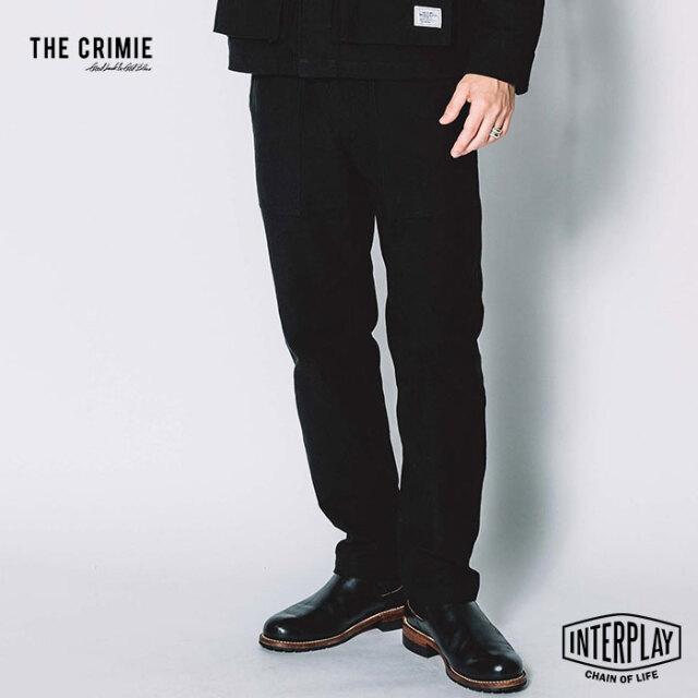 【先行予約】クライミー CRIMIE ザックバックサテンベイカーパンツ ZACK BACK SATIN BAKER PANTS CR1-02L5-PL07 ZACK ミリタリー バ