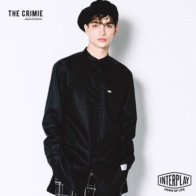【先行予約】クライミー CRIMIE ロバートオーバーサイズバンドカラーロングシャツ ROBERT OVERSIZE BAND COLLAR LONG SHIRT CR1-02L5
