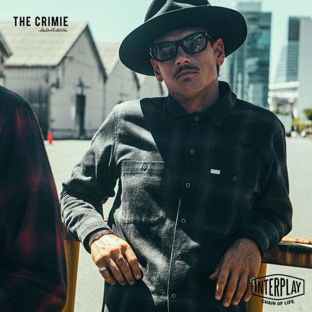 【先行予約】クライミー CRIMIE オンブレチェックシャツ OMBRE CHECK SHIRT CR1-02L5-SL09 オンブレ チェック ネルシャツ シャツ