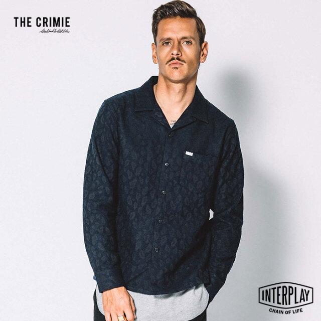 【先行予約】クライミー CRIMIE レオパードウールシャツ LEOPARDO WOOL SHIRT CR1-02L5-SL11 レオパード ウール 開襟 シャツ