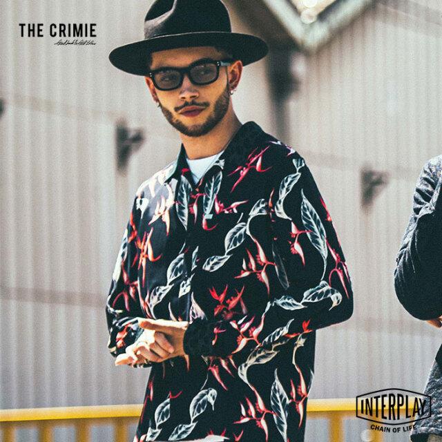 【先行予約】クライミー CRIMIE アロハ&レオパードレーヨンシャツ ALOHA&LEOPARDO RAYON SHIRT CR1-02L5-SL12 アロハ レオパード レ