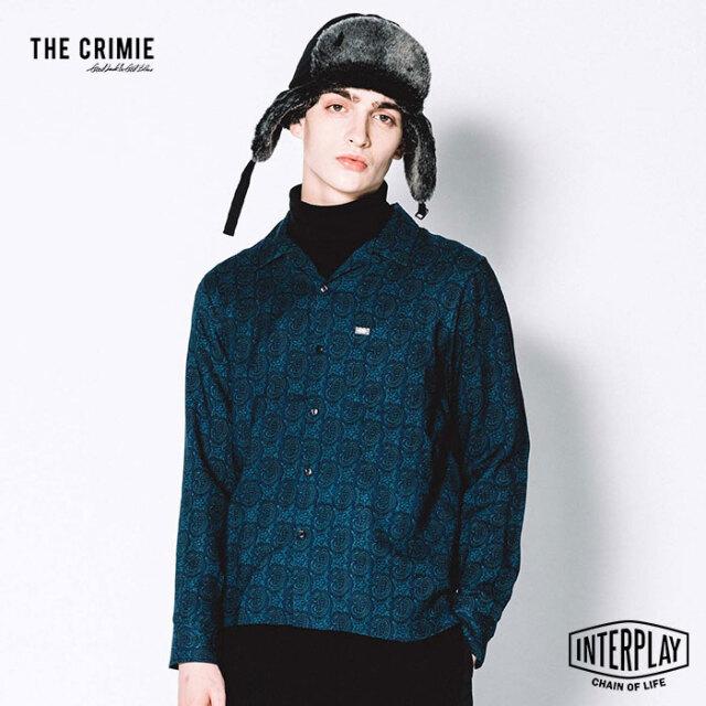 【先行予約】クライミー CRIMIE ウールビエラペイズリーシャツ WOOL VIYELLA PAISELEY SHIRT CR1-02L5-SL14 ウール ビエラ ペイズリ