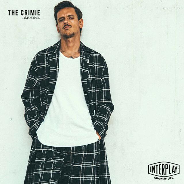 【先行予約】クライミー CRIMIE カートチェックガウンシャツ KURT CHECK GOWN SHIRT CR1-02L5-SL15 KURT チェック ガウン シャツ