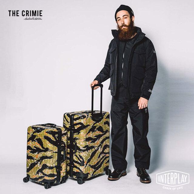 【先行予約】クライミー CRIMIE タイガーカモスーツケース26inc CR1-A2L5-BG01 CR1-A2L5-BG01 タイガーカモ 迷彩 キャリーバッグ ス