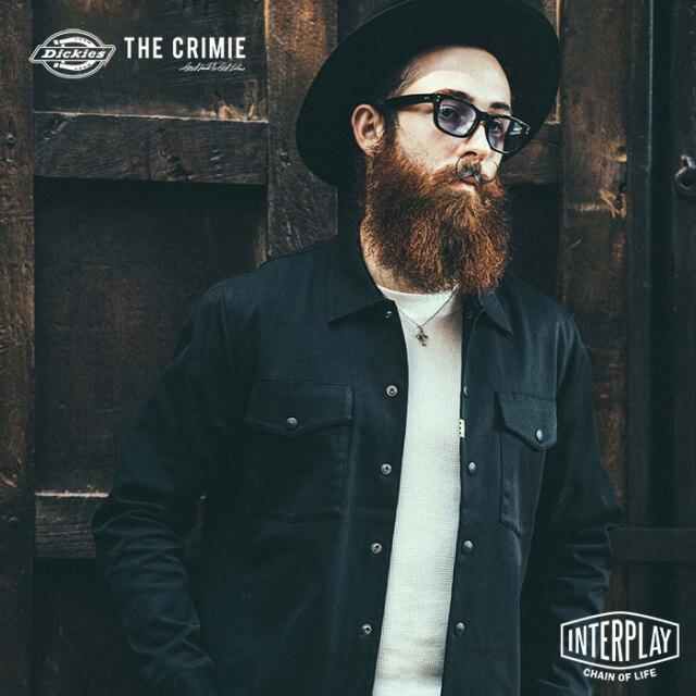 クライミー CRIMIE クライミー×ディッキーズフィールドタイプワークシャツジャケット CRIMIE×Dickies FIELD TYPE WORK JACKET CR1-C2