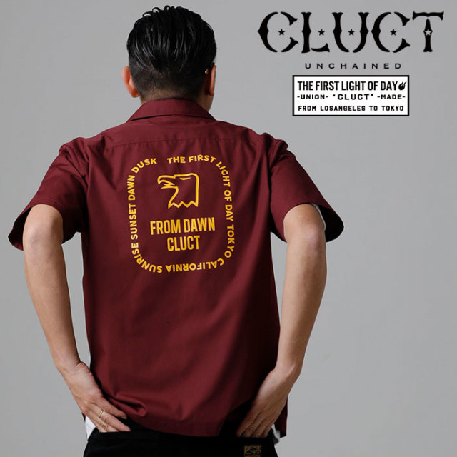 CLUCT(クラクト) S/S SOLID SHIRT 【2019SUMMER/AUTUMN新作】【送料無料】 【#03015】【シャツ】