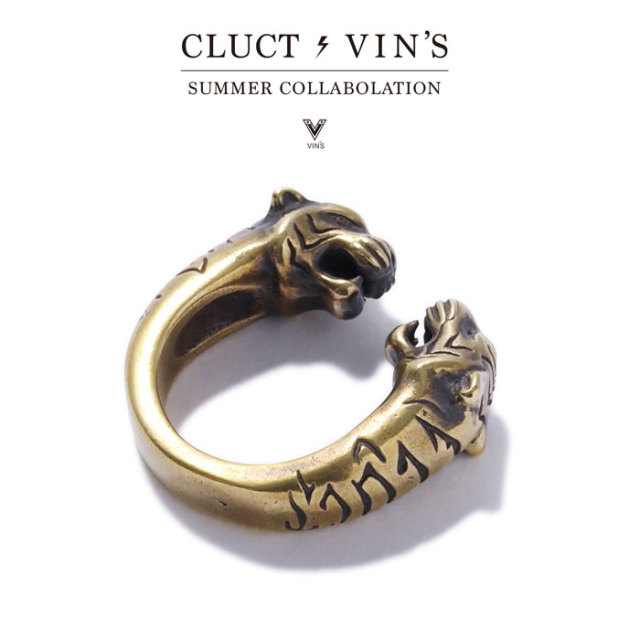 CLUCT(クラクト) CLUCT×VIN'S BRASS RING 【2019SUMMER/AUTUMN新作】【コラボレーション】 【#03027】【リング】