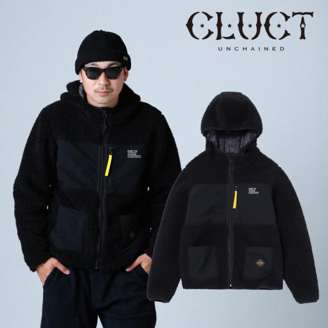 CLUCT クラクト ジャケット CTW-FLEECE JKT 【フリース ジャケット】【ブラック カーキ】【アウター カジュアル アメカジ ストリー