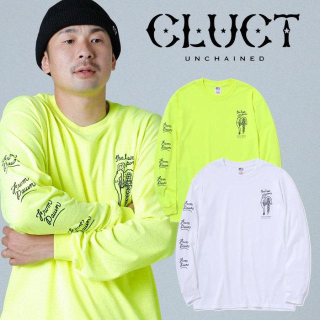 CLUCT(クラクト) CC-THE LAST PORT L/S 【ロングスリーブTシャツ】【袖プリント ロンT おしゃれ】 【2019HOLIDAY新作】【#03075】