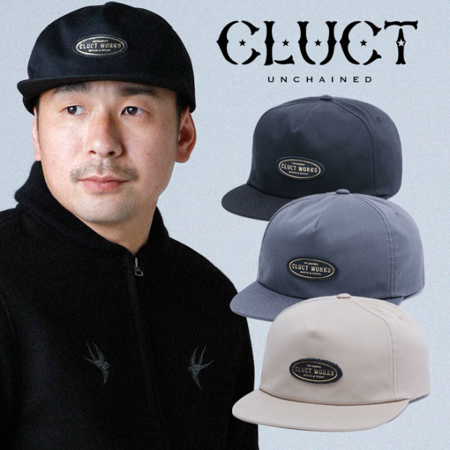 CLUCT(クラクト) CW-WORK CAP 【2019HOLIDAY新作】【#03087】【キャップ 帽子】