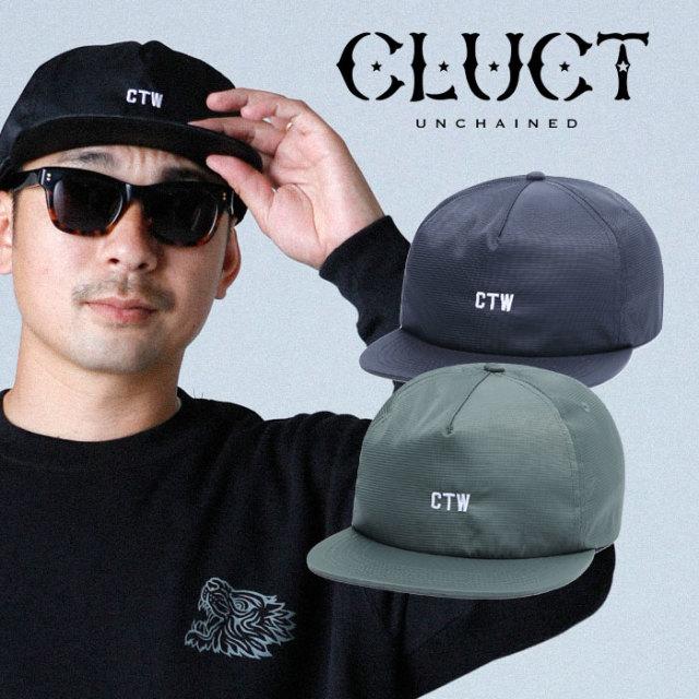 CLUCT(クラクト) CTW-MILTY CAP 【2019HOLIDAY新作】【#03092】【キャップ 帽子】【ブラック カーキ】