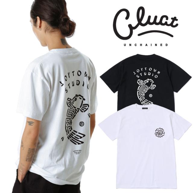 CLUCT(クラクト) CW-CARP S/S 【Tシャツ 半袖  おしゃれ】【黒ブラック 白 ホワイト】【2020 SPRING&SUMMER COLLECTION新作】【#04