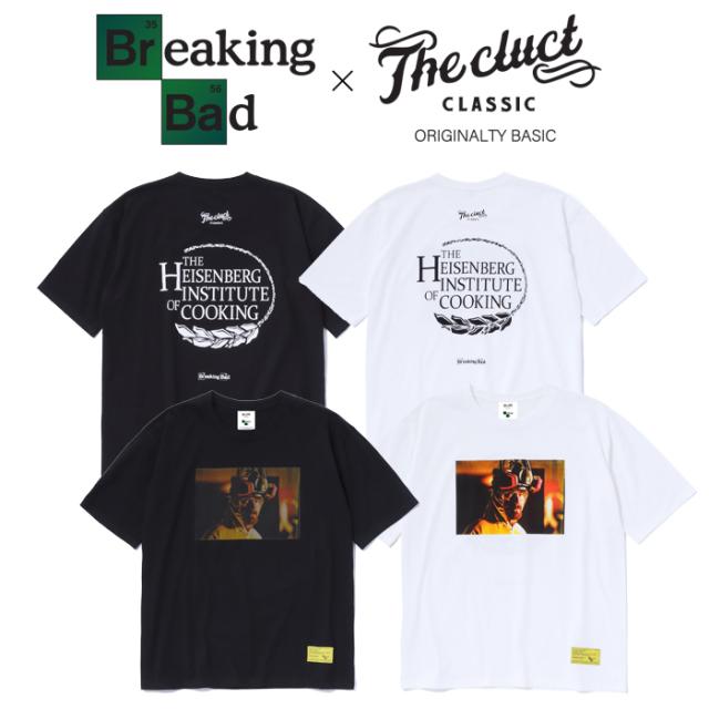 CLUCT(クラクト)×BREAKING BAD HEISENBERG S/S 【Tシャツ 半袖  おしゃれ】【黒ブラック 白 ホワイト】【コラボレーション】【#040