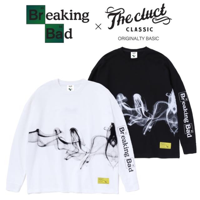 CLUCT(クラクト)×BREAKING BAD BREAKING BAD L/S 【Tシャツ 長袖  おしゃれ】【黒ブラック 白 ホワイト】【コラボレーション】【#0