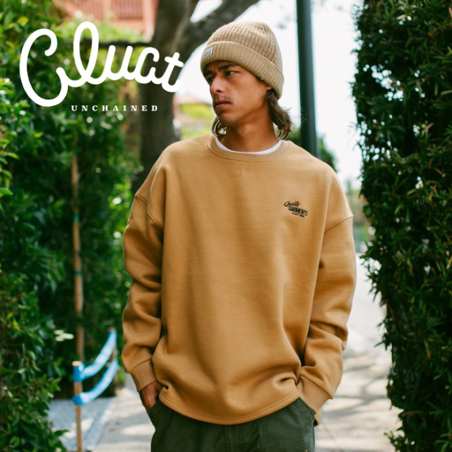 CLUCT (クラクト)  GLADWICK [CREW SWEAT] 【スウェット】【#04362】【2021WINTER先行予約】【キャンセル不可】