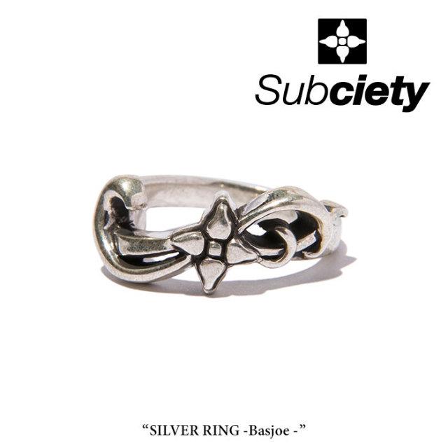 SUBCIETY(サブサエティ) SILVER RING-Basjoe- 【2018SUMMER先行予約】 【送料無料】【キャンセル不可】 【104-90245】