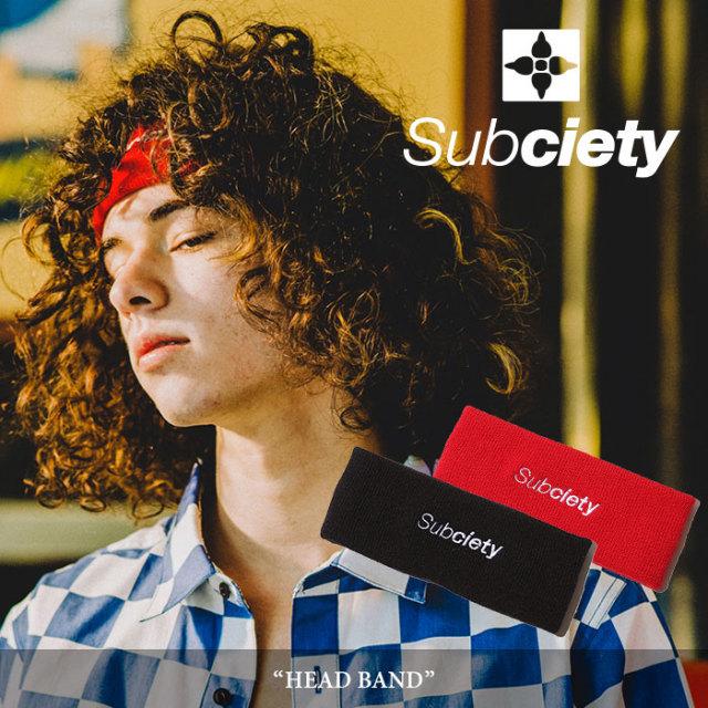 SUBCIETY(サブサエティ) HEAD BAND 【2018SUMMER先行予約】 【キャンセル不可】 【106-86284】