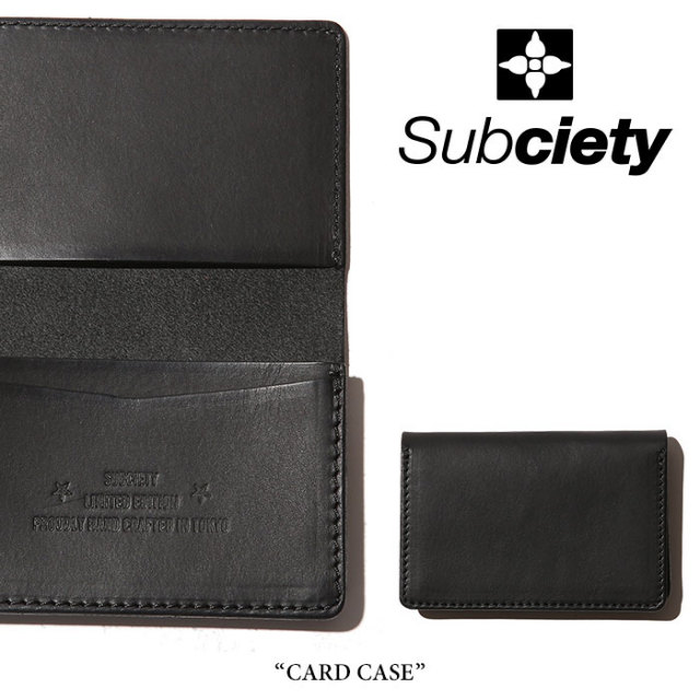 SUBCIETY(サブサエティ) CARD CASE 【2018SUMMER先行予約】 【送料無料】【キャンセル不可】 【106-87295】