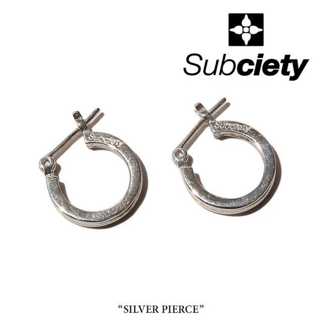 SUBCIETY(サブサエティ) SILVER PIERCE 【2018SUMMER先行予約】 【キャンセル不可】 【106-96294】