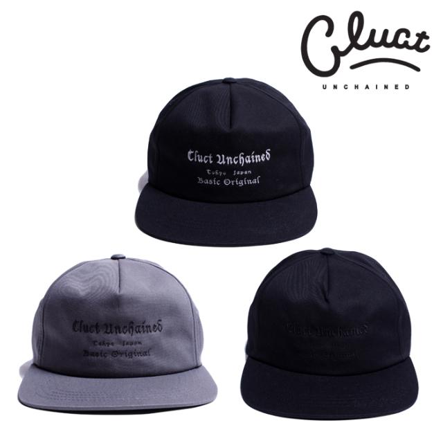 CLUCT(クラクト) CW-ENB WORK CAP 【ワークキャップ 帽子  おしゃれ】【黒ブラック グレー】【2020 SPRING&SUMMER COLLECTION新作