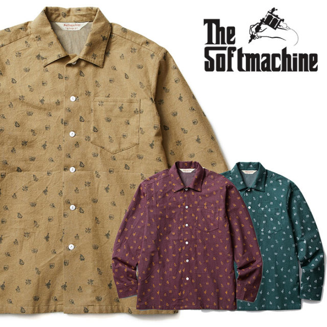 SOFTMACHINE(ソフトマシーン) ASSEMBLY SHIRTS(FLANNEL SHIRTS) 【2018AUTUMN/WINTER先行予約】【キャンセル不可】