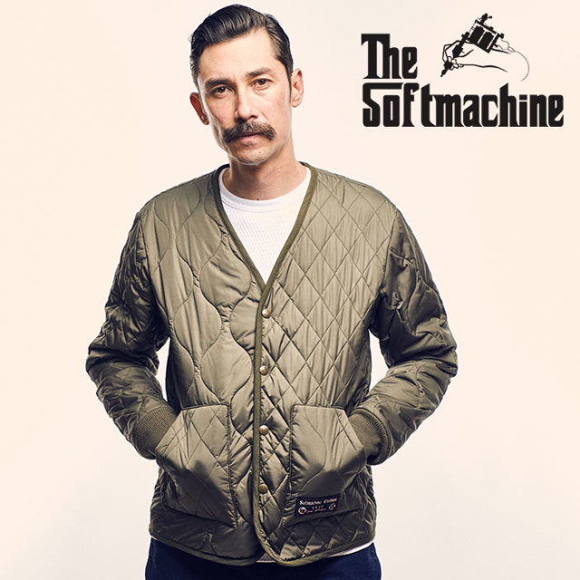 SOFTMACHINE(ソフトマシーン) ASYMMETRY INNER JK(QUILTING JACKET) 【2018AUTUMN/WINTER先行予約】【キャンセル不可】